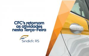 Com serviços reduzidos, CFC's retomam as atividades nesta terça-feira.